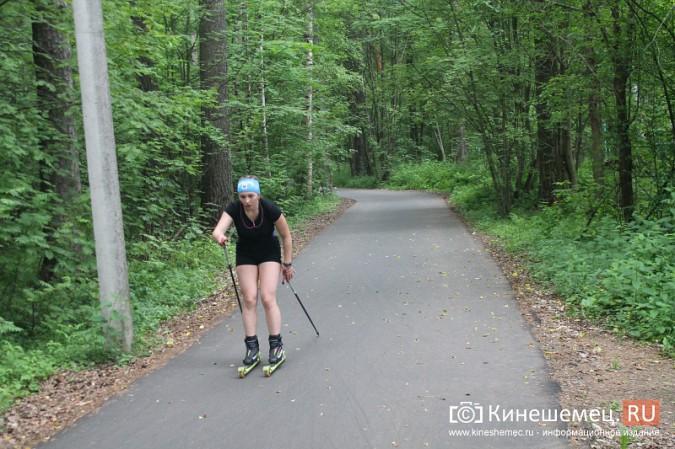 Юные кинешемские биатлонисты и лыжники готовятся к сезону фото 45