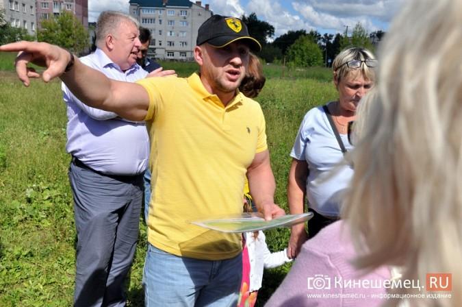 О недовольстве строительством на улице Менделеева жители Кинешмы проинформировали Путина фото 3