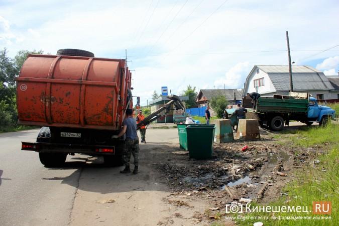 В Кинешме начали устанавливать новые мусорные контейнеры фото 6