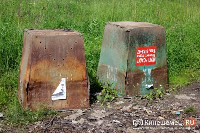 В Кинешме начали устанавливать новые мусорные контейнеры фото 12