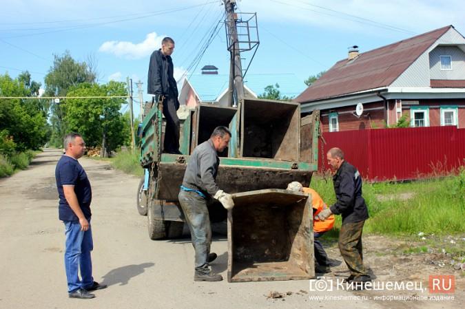 В Кинешме начали устанавливать новые мусорные контейнеры фото 7