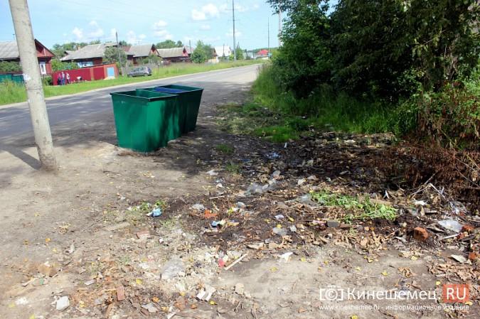 В Кинешме начали устанавливать новые мусорные контейнеры фото 10