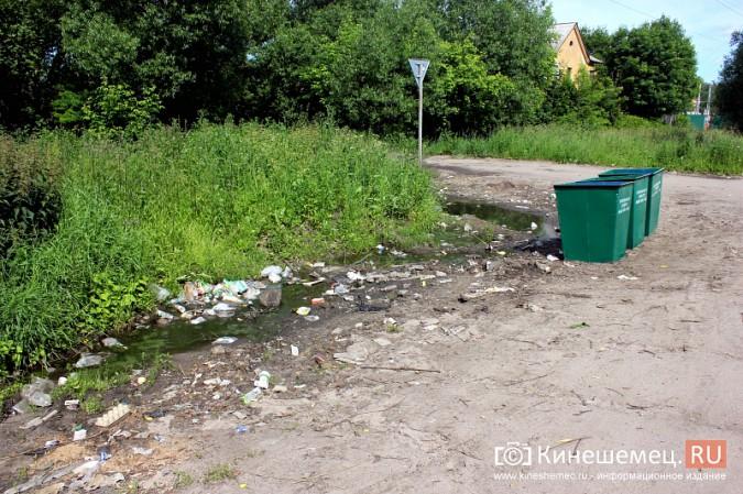 В Кинешме начали устанавливать новые мусорные контейнеры фото 4