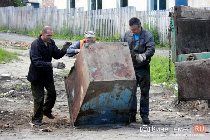 В Кинешме начали устанавливать новые мусорные контейнеры фото 5