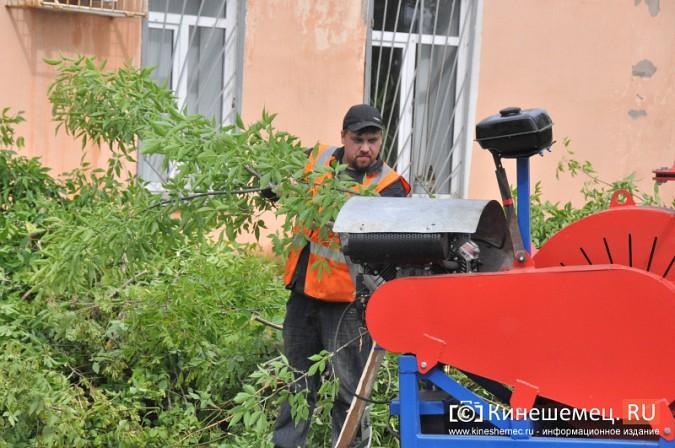 УГХ Кинешмы испытало новую машину для измельчения веток фото 2