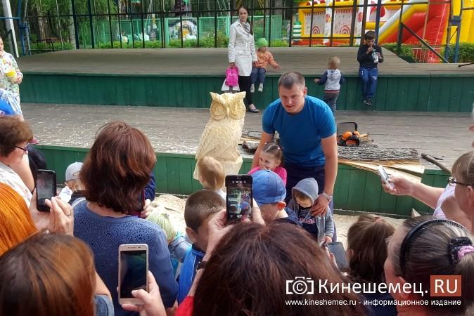 Лучший резчик России Андрей Большаков сделал кинешемцам мудрый подарок фото 15