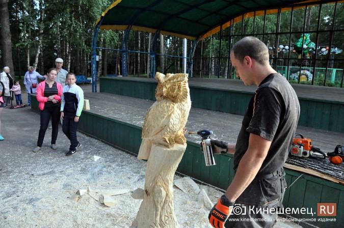 Лучший резчик России Андрей Большаков сделал кинешемцам мудрый подарок фото 26