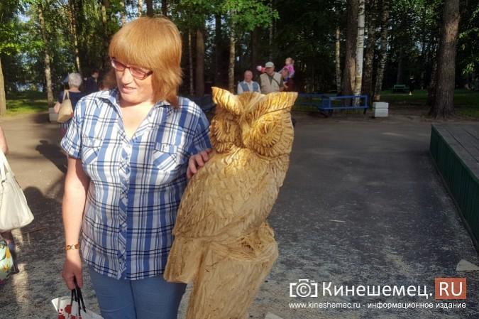 Лучший резчик России Андрей Большаков сделал кинешемцам мудрый подарок фото 17