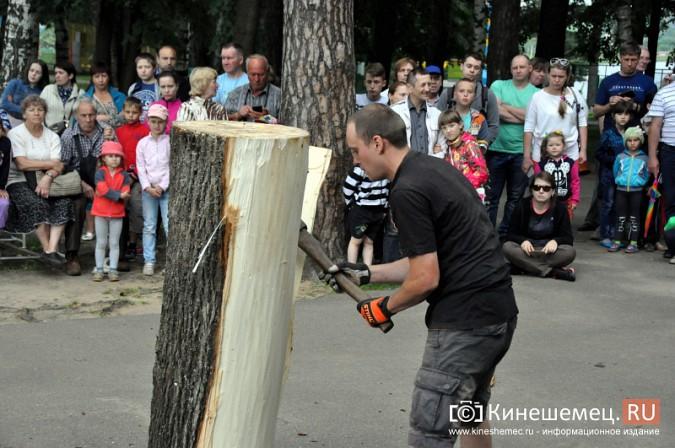 Лучший резчик России Андрей Большаков сделал кинешемцам мудрый подарок фото 21