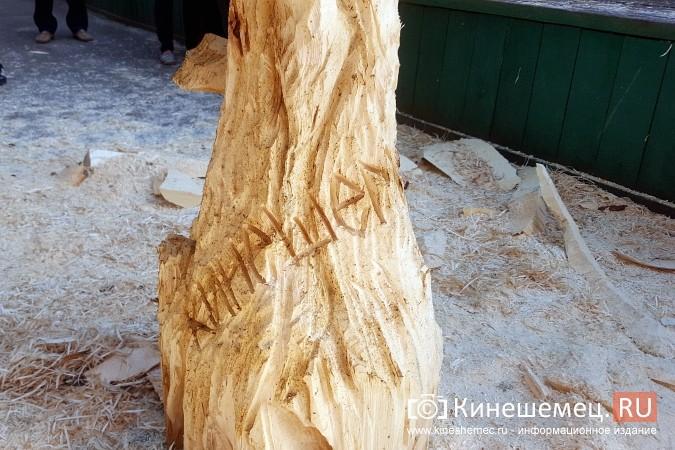Лучший резчик России Андрей Большаков сделал кинешемцам мудрый подарок фото 16