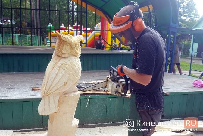 Лучший резчик России Андрей Большаков сделал кинешемцам мудрый подарок фото 5