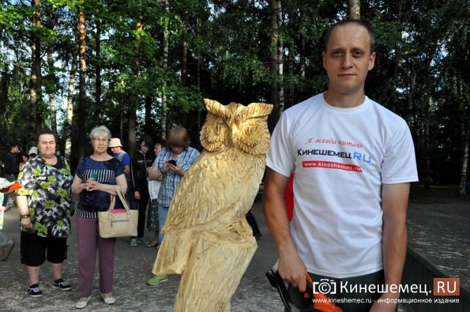 Лучший резчик России Андрей Большаков сделал кинешемцам мудрый подарок фото 27