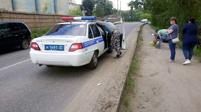 В Кинешме пассажирка, упав со скутера, разбила лицо фото 4