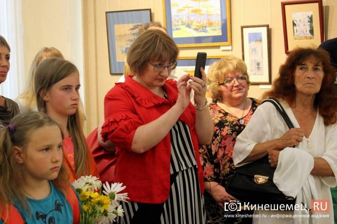 В Кинешме открылась выставка московского художника и реставратора Василия Руга фото 7