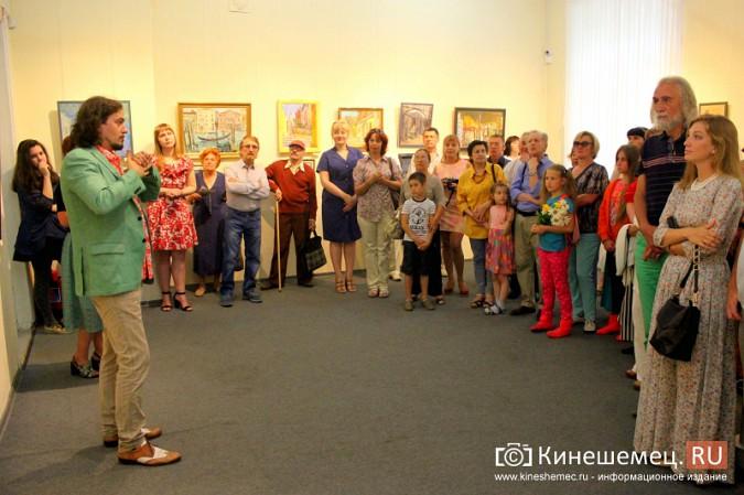 В Кинешме открылась выставка московского художника и реставратора Василия Руга фото 5
