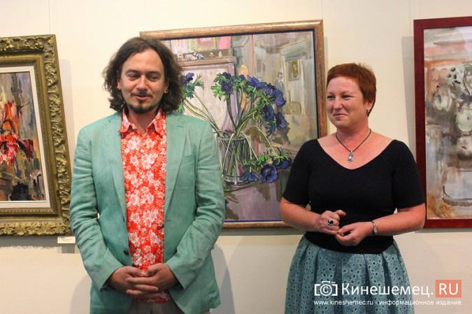 В Кинешме открылась выставка московского художника и реставратора Василия Руга фото 2