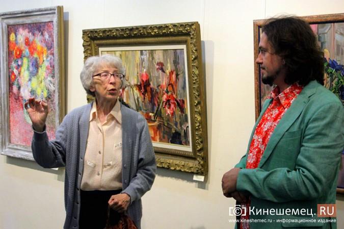 В Кинешме открылась выставка московского художника и реставратора Василия Руга фото 8
