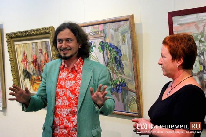В Кинешме открылась выставка московского художника и реставратора Василия Руга фото 6