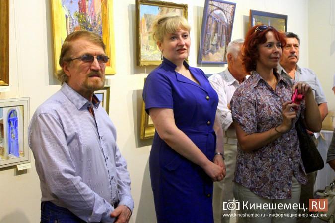 В Кинешме открылась выставка московского художника и реставратора Василия Руга фото 9