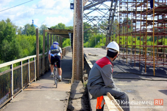 Что происходит на Никольском мосту в Кинешме? фото 6