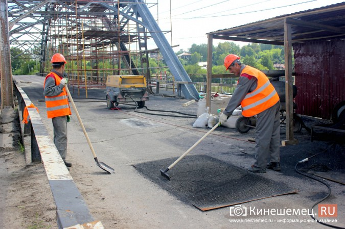 Что происходит на Никольском мосту в Кинешме? фото 8