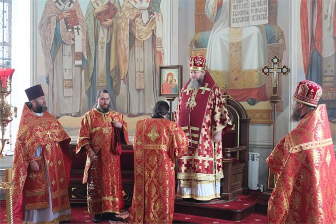 Божественную литургию в честь великомученика Пантелеимона совершили в Кинешме фото 3